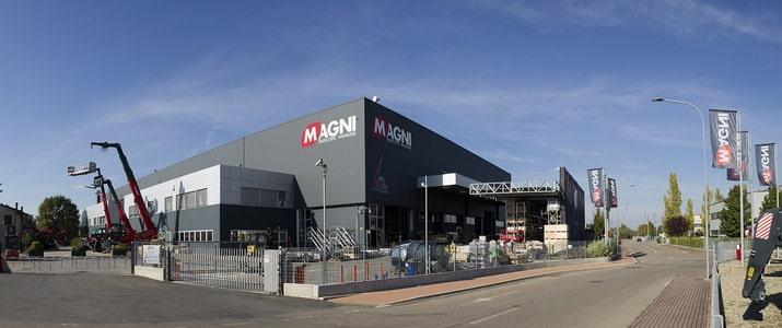 Завод производителя Magni