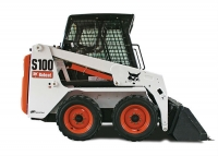 Колесный мини погрузчик Bobcat S100