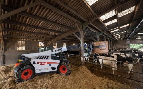 Телескопический погрузчик для сельского хозяйства Bobcat TL43.80HF+AGRI