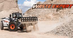 Специальная серия телескопических погрузчиков Bobcat - Waste Expert