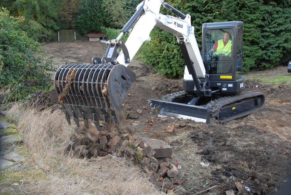 Просеивающий ковш Bobcat для мини экскаваторов