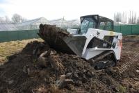 Гусеничный мини погрузчик Bobcat T110