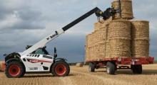 Телескопический погрузчик для сельского хозяйства Bobcat TL30.70+AGRI в деле