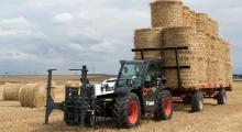 Телескопический погрузчик для сельского хозяйства Bobcat TL30.70+AGRI на поле