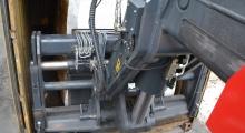 Magni HTH 30.12 вид из кабины