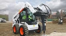 Колесный мини погрузчик Bobcat S510 многофункционален