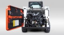 Колесный мини погрузчик Bobcat S510 обзор деталей крупным планом