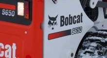 Колесный мини погрузчик Bobcat S650 крупным планом
