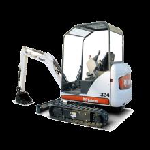 Навесное оборудование Bobcat для мини экскаваторов