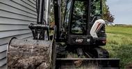 Новая машина в линейке мини экскаваторов Bobcat – модель E60