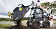 Новое оборудование Bobcat для дорожного строительства