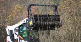 Производительные устройства Bobcat для задач лесной отрасли