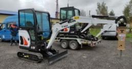 Отгрузка мини экскаваторов Bobcat для филиалов «Белсвязьстрой»